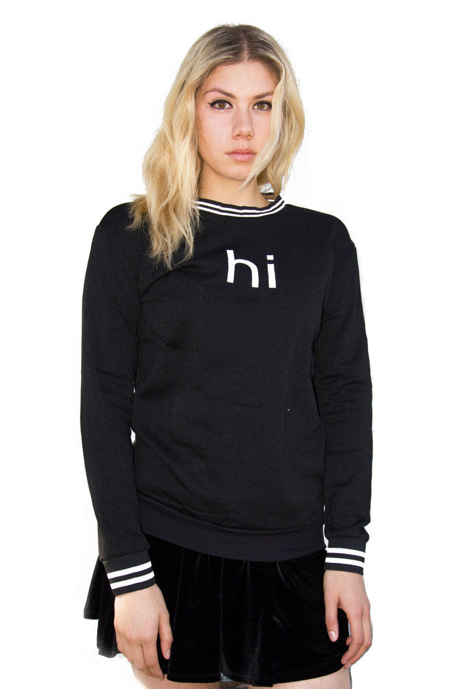 PREORDER Hi Bye Sweater - So International   - 4