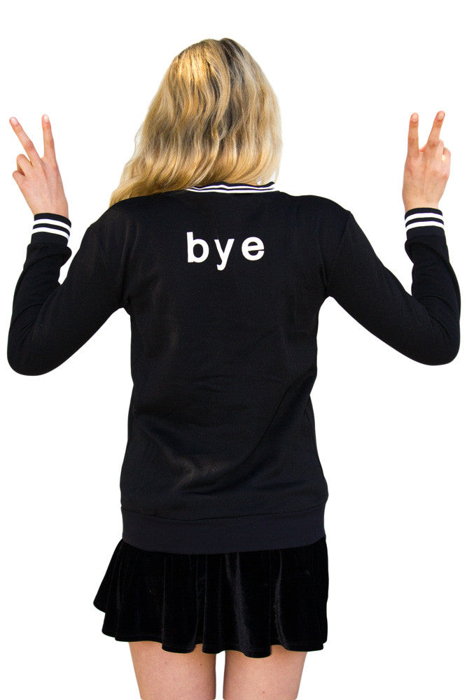 PREORDER Hi Bye Sweater - So International   - 2