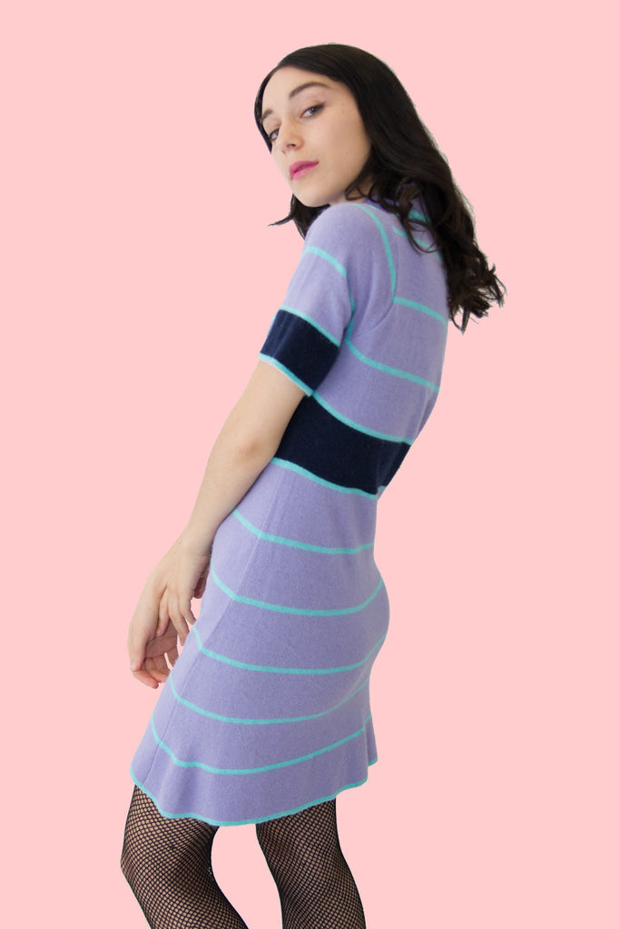 Pop Dress | Purple - So International   - 2