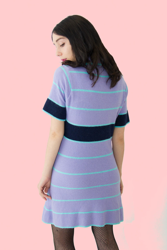 Pop Dress | Purple - So International   - 3