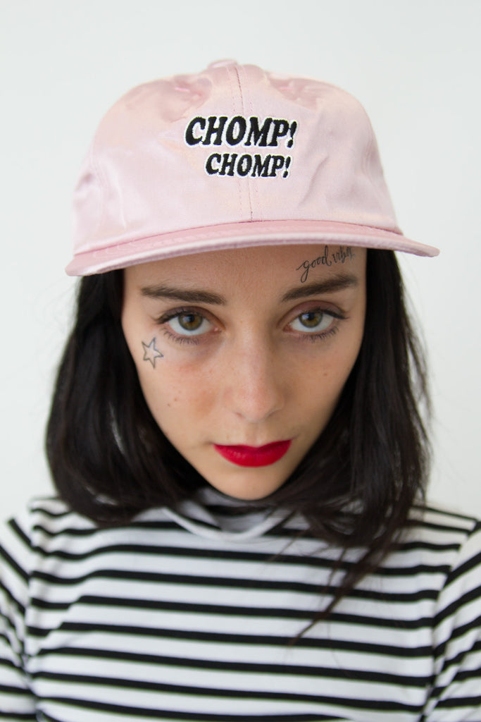 Chomp Chomp Snapback | Powder Pink - So International   - 2