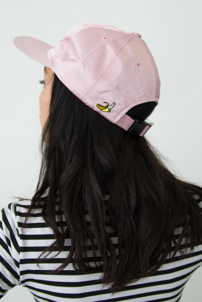 Chomp Chomp Snapback | Powder Pink - So International   - 3