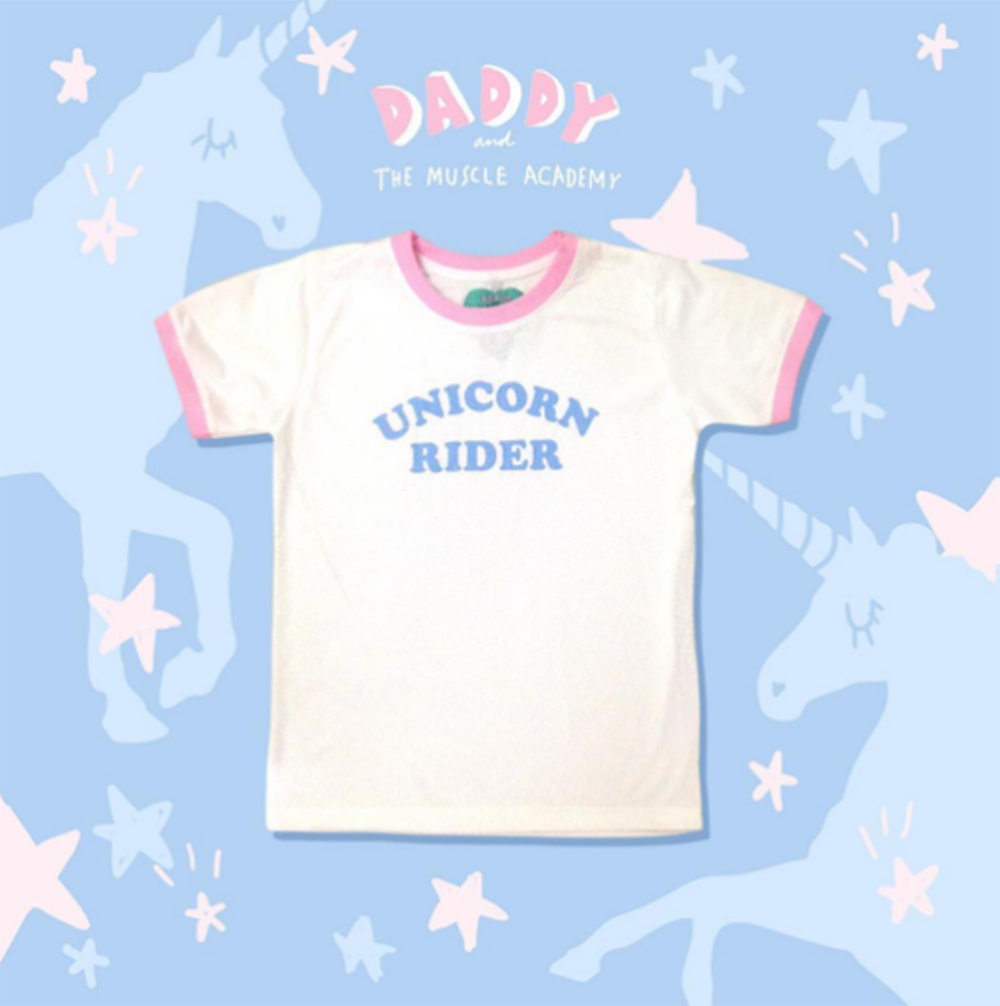 Unicorn Rider Ringer Tee - So International   - 4