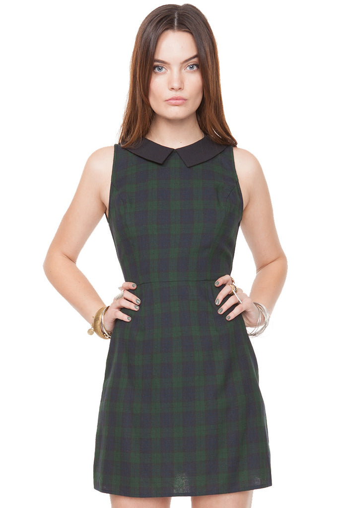 Plaid Decisions Dress - So International   - 4