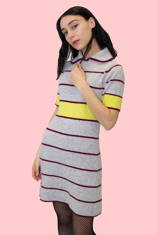 Pop Dress | Grey - So International   - 1