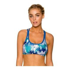 Swim Systems Ocean Palm Bralette A628