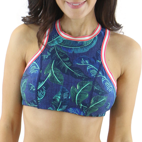 Heat Jungle High Neck Halter Top 120-5252