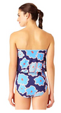 Anne Cole Locker Bloom Bandeau One Piece 18BL000976