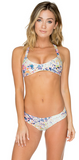 B Swim North Shore Floral Green Oasis Bralette U93