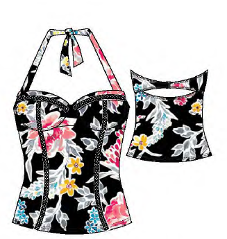 Sol Collective Bold Bloom Tankini 103186