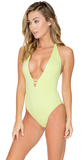 B Swim Sky Green Lush One Piece UL114
