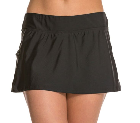 Sol Collective Solids Swim Skirt 100415B
