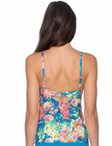 Sunsets Electric Oasis Iconic Twist Tankini 70