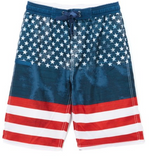 Burnside Glory Boy's Swim Trunks BK7417