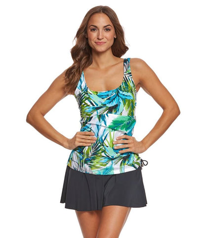 Maxine Adjustable Tank Swim Dress MM8PA77