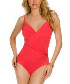 Magic Suit Harper Wrap Effect One Piece 367651