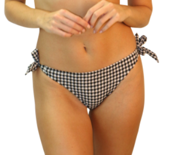 Heat Gingham Vibe Thick Tie Side Pant 330-6580