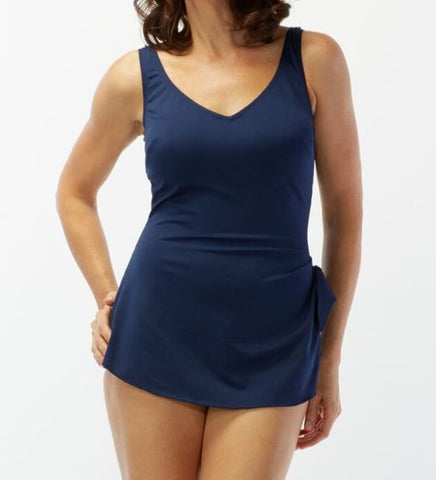 Roxanne V Neck One Piece E44010