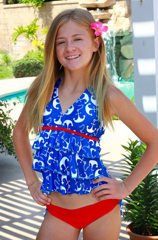 Jump N Splash Tiered Tankini S5GB222