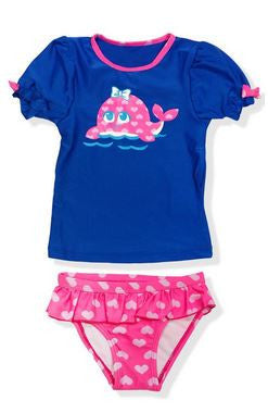 Jump N Splash Girls Rash Guard Set R5G0502