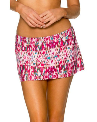 Sunsets Veranda Contemporary Swim Skirt 36B