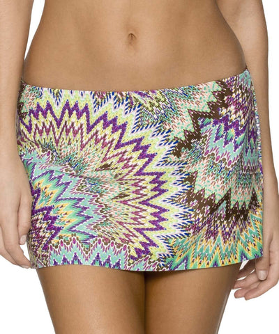 Sunsets Sunburst Contemporary Swim Skirt 36B