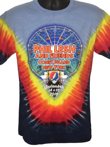 Phil Lesh & Friends Coney Island Tie Dye