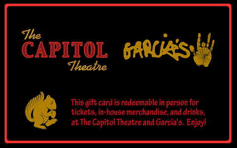 The Capitol Theatre Gift Card