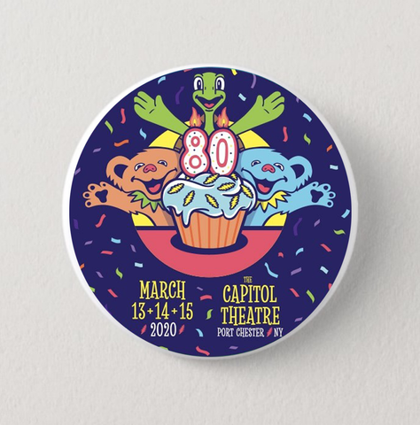 Phil Lesh 80th Birthday Run Button