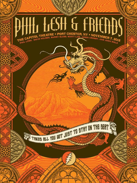 Phil Lesh & Friends Poster November 7, 2015