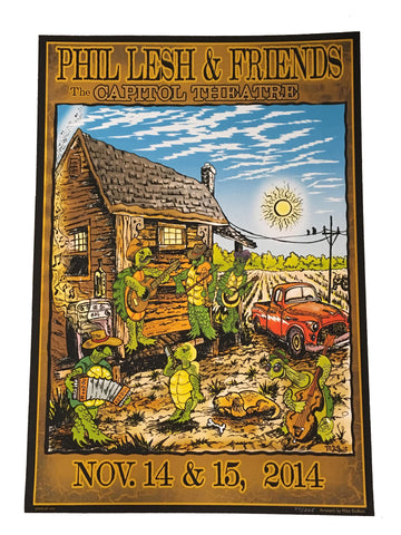 Phil Lesh & Friends November 2014 Poster