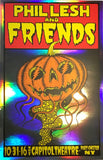 Phil Lesh & Friends October 31, 2016 Foil Poster