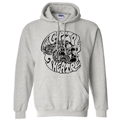 Nu Squirrel Heather Grey Pullover Hoodie