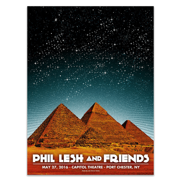 Phil Lesh & Friends May 27, 2016 Poster