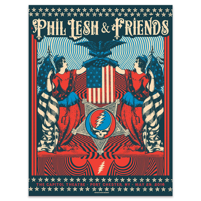 Phil Lesh & Friends May 29, 2016 Poster