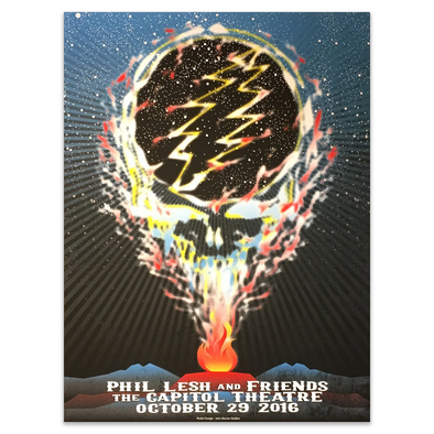 Phil Lesh & Friends October 29, 2016 Poster