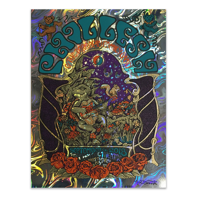 Phil Lesh & The Terrapin Family Band Foil Poster 09-06-2018
