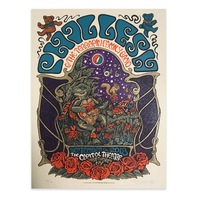 Phil Lesh & The Terrapin Family Band Poster 09-06-2018