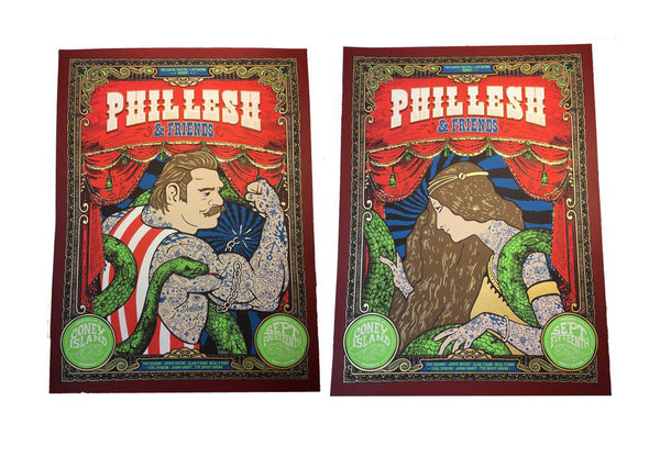 Phil Lesh & Friends Coney Island Poster Set