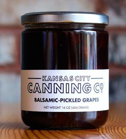 Balsamic Pickled Grapes