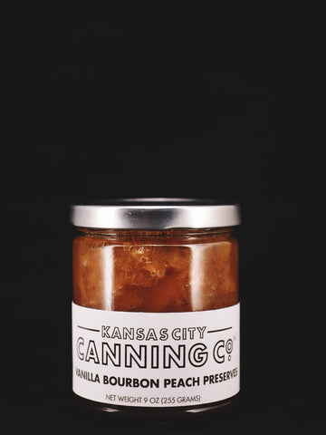 Vanilla Bourbon Peach Preserves - Kansas City Canning Co.