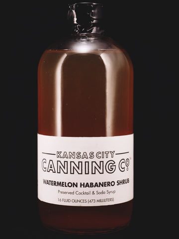 Watermelon Habanero Shrub - Kansas City Canning Co.