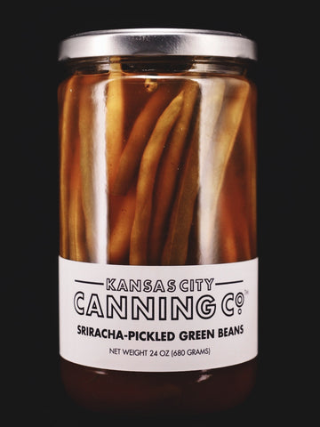 Sriracha Pickled Green Beans