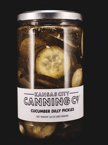 Cucumber Dilly Pickles - Kansas City Canning Co.