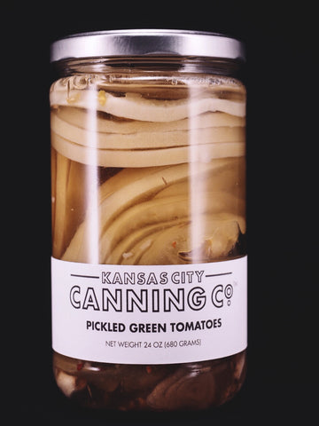 Pickled Green Tomatoes - Kansas City Canning Co.
