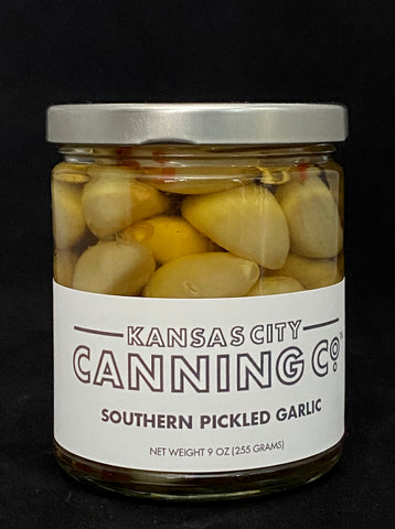 Southern Pickled Garlic