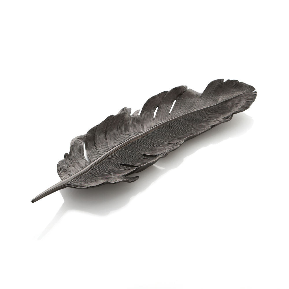 Feather Tray Black Nickelplate