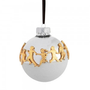 Playful Children Ornament