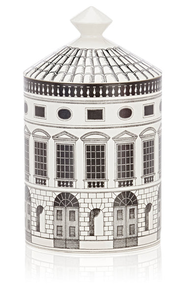 Fornasetti Architettura Lidded Candle