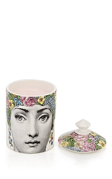 Fornasetti Flora Lidded Candle